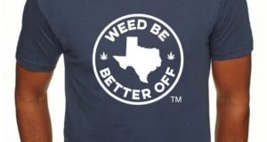 Weed Be Better Off Texas T-shirt