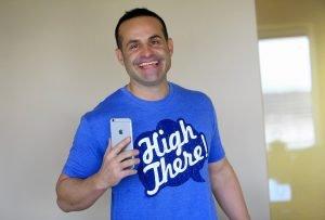 Darren Roberts High There App founder - Cannabis Magazine