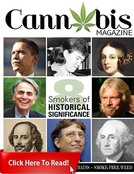 Cannabis Magazine Cover