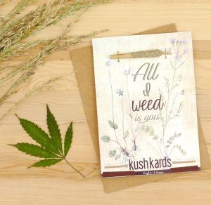 Valentines Day Kush Kards