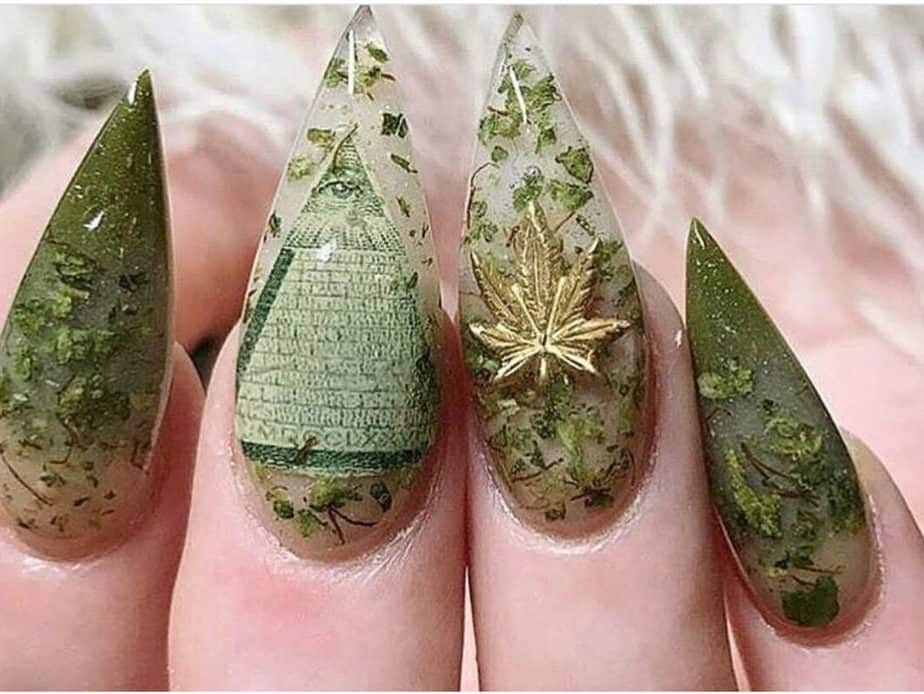 Creative Cannabis Nail Art to Inspire Your Next Mani - Cannabis Magazine