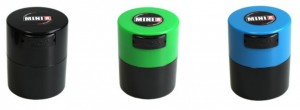 Tight Vac cannabis travel container