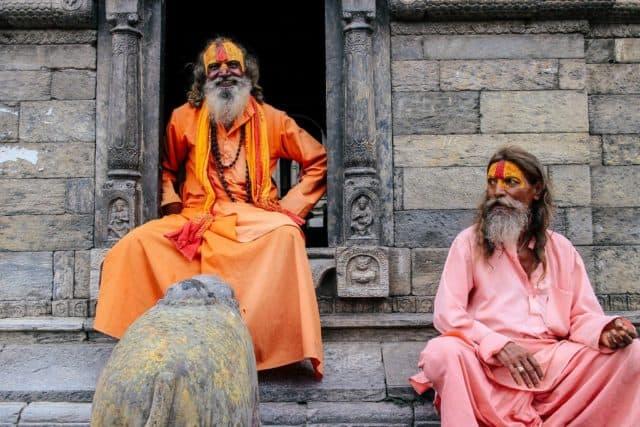 Sadhus bhang holi festival india