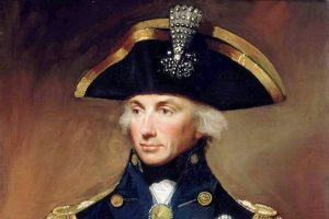 Horatio Nelson triumphant Vice Admiral