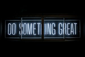 Do Something Great (Photo Credit: Clark Tibbs)
