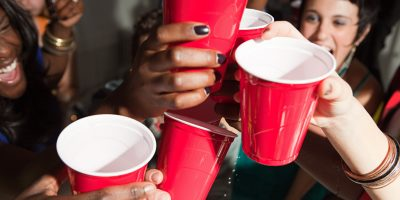 College Binge Drinking vs Cannabis