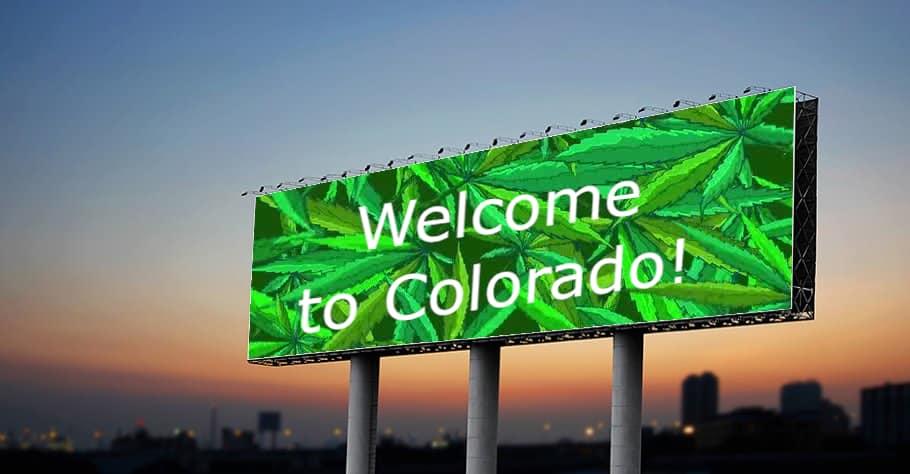 Cannabis Billboards in Colorado