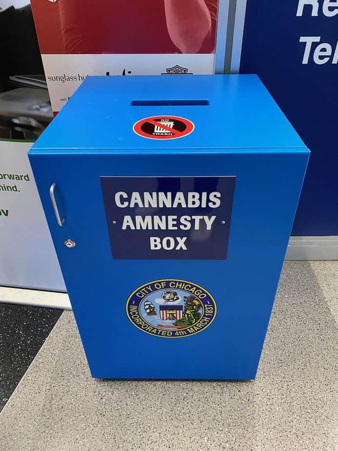Cannabis Amnesty Box
