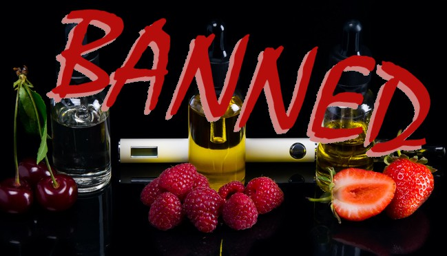 Flavored Vapes Banned