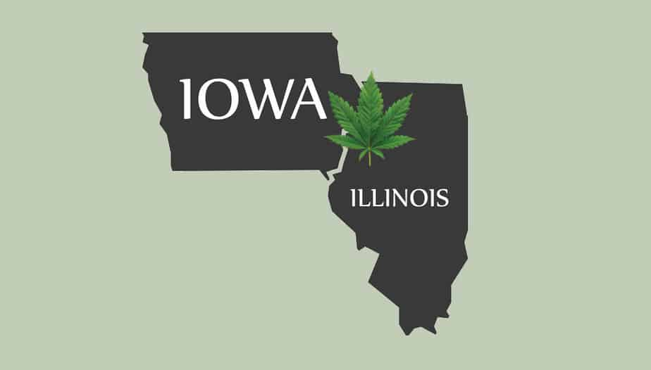 Iowans buy weed in Illinois