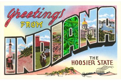 Indiana the Hoosier State