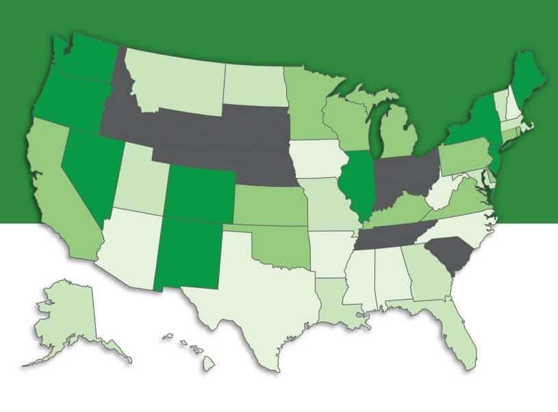 NORML State Rankings