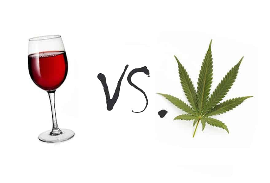 Napa Valley Wine vs Weed