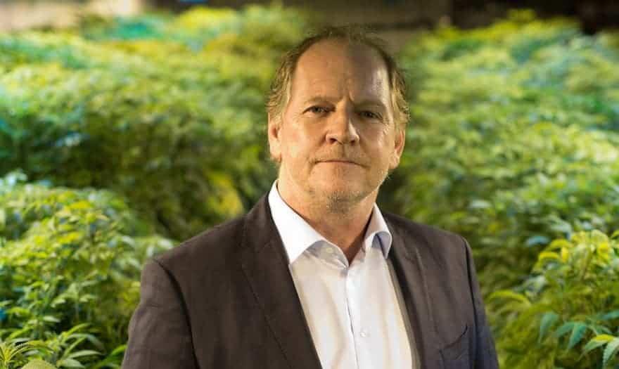 Terry Booth of Aurora Cannabis