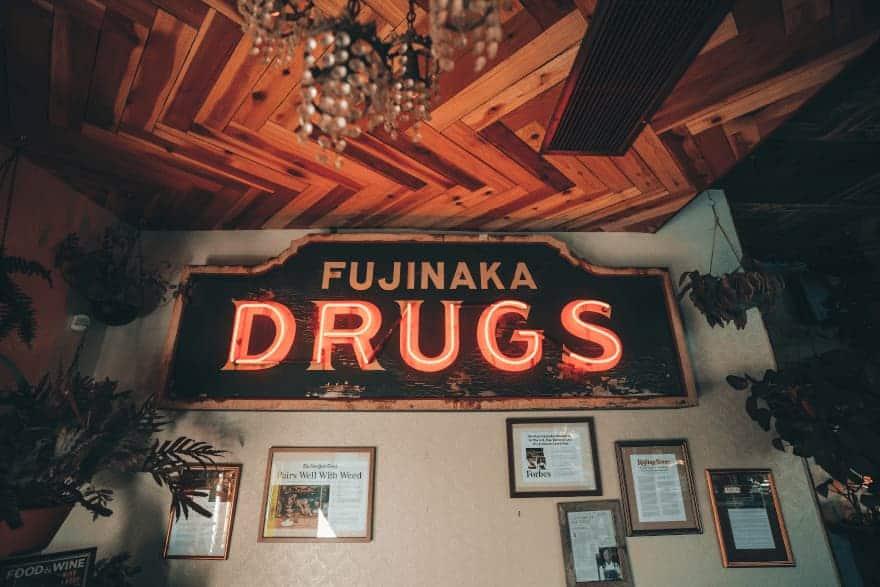 West Hollywood Cannabis Cafe Entrance