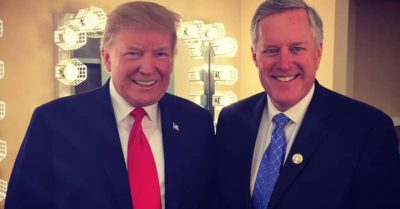Mark Meadows and Trump