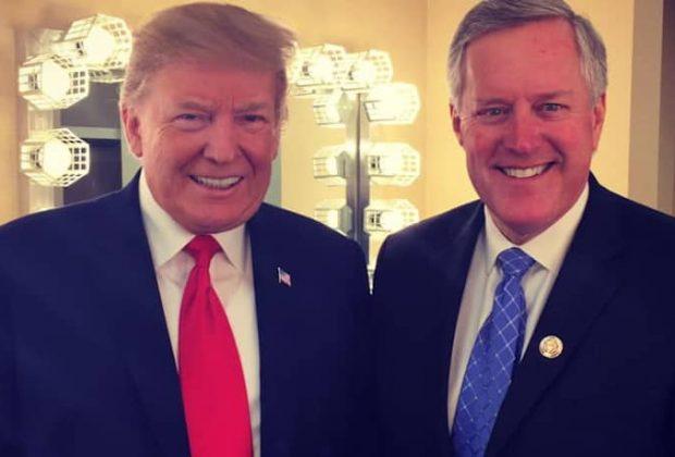 Mark Meadows and Trump