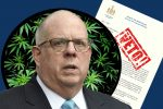 Larry Hogan Vetos Cannabis Bill