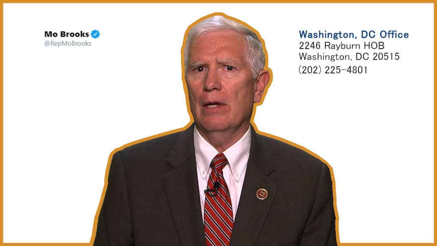 Mo Brooks Calls George Floyd a Druggie