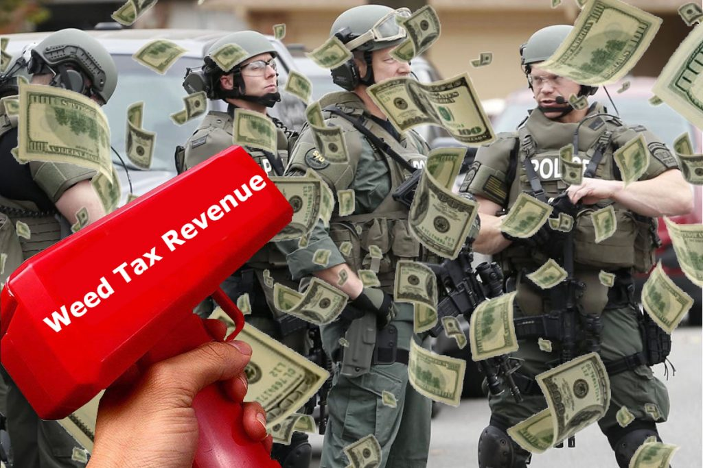 Weed Tax Revenue Goes to Police